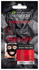 Bielenda Carbo Detox <b>Очищающая угольная маска</b> для лица Peel-off
