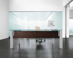 simple modern office furniture design idea with brown desk white chair gray floor tile and white wall alluring modern office furniture design ideas alluring gray office desk