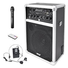 sound system wireless: pyle pwma sound and recording pa loudspeakers cabinet speakers dual channel