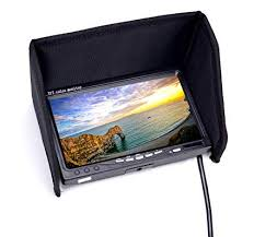 RC FPV Monitor 7 Inch 1024x600 LCD Display Video ... - Amazon.com