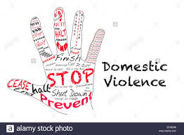 outline of a hand the words for stop along the word outline of a hand the words for stop along the word domestic violence