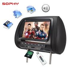 Universal <b>7 inch Car</b> Headrest MP4 <b>Monitor</b> / Multi media Player ...