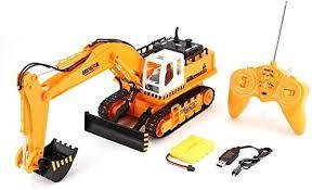 MMPY Excavator <b>Remote Control Car</b> Toys 1/16 <b>11CH RC</b> ...