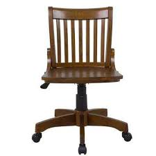 oxford rubberwood adjustable height office chair in chestnut amazing home depot office chairs 4 modern