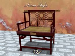 armchair or bench asian style furniture japanese or chinese asian style furniture