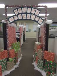 christmas decorations can boost morale at the office leland management embraces the season and encourages charming desk decorating ideas work halloween