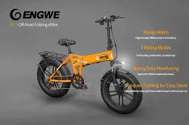 <b>ENGWE EP-2 500W</b> Fat Tire Electric Bike For Just $859.99 [Coupon]