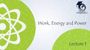 work energy and power lecture iit jee physics