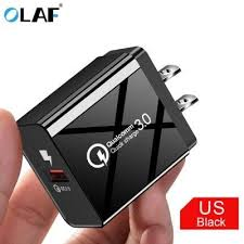<b>OLAF 1 USB</b> Port Quick Charge 3.0 Universal Fast Charging ...