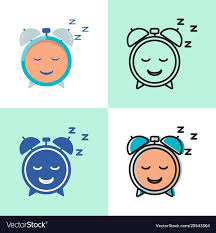 Good <b>sleep concept</b> icon set in flat and line style , #AFF, #<b>concept</b> ...