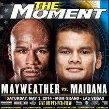 Sabato 3 maggio al MGM di Las Vegas con l'organizzazione della Golden Boy Promotions e Mayweather Promotions Floyd Mayweather jr e l' argentino Marcos Rene ... - mayweather5