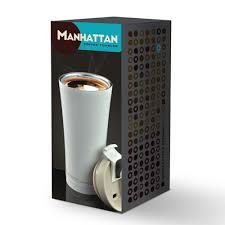 <b>Термокружка</b> Manhattan coffee tumbler серая, 0.5 <b>л</b> (<b>Asobu</b> V700 ...
