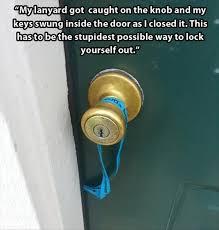 bathroom lock sideways