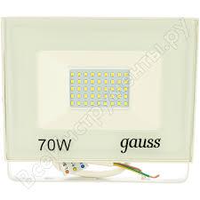 <b>Светодиодный прожектор Gauss LED 70W</b> 4900lm IP65 6500К ...