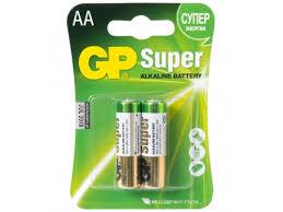Купить <b>батарейку GP Super Alkaline</b> 15A LR6 AA (2 штуки) по ...