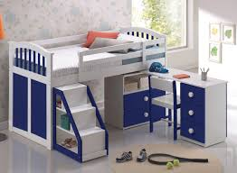 full size of kids room lovely bunk loft bed blue desk white stair white blue biege study twin kids study room