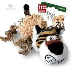<b>Игрушка GiGwi Dog Toys</b> Тигр с пищалкой для собак - купить в ...