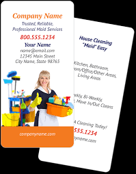 maid house cleaning business cards com maid house cleaning business cards