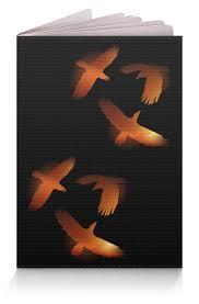 """<b>Обложка для паспорта</b> """"Три пылающих ворона (крупно ..."""