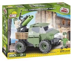 <b>Конструктор Cobi</b> Small Army 2160 <b>Армейский</b> бронированый пикап