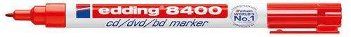<b>Маркер для CD</b>, 0,75 мм, красный бренда Edding – купить по ...