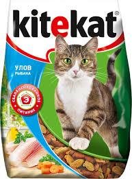 """Корм сухой для кошек """"<b>Kitekat</b>"""", <b>улов рыбака</b>, 350 г — купить в ..."""
