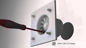 <b>Silent 100</b> CZ Design монтаж <b>вентилятора</b> - YouTube