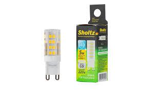 <b>Светодиодная лампа Sholtz</b> капсульная 5Вт G9 4200K 220В ...