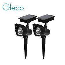 <b>2PCS</b>/Lot <b>Solar</b> Light Warm white <b>LED Spotlight</b> Waterproof for ...