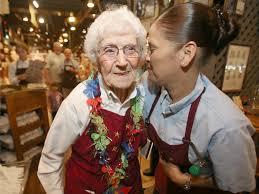 hostess is cracker barrel s oldest employee news ocala hostess 97 is cracker barrel s oldest employee news com fl