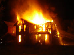 essay about fire in a house