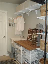 Narrow Laundry Room Ideas Laundry Room Hanging Rod Ideas