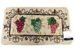 grapes grape themed kitchen rug: grape themed kitchen rug burgundy green grapes