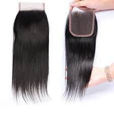 10A Brazilian Straight Lace Closure 4