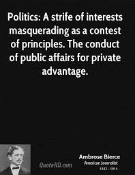 Ambrose Bierce Politics Quotes | QuoteHD