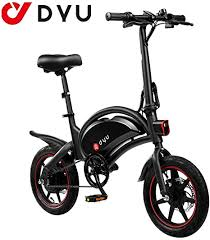 AmazeFan <b>DYU D3F</b> Folding <b>Electric</b> Bike, <b>Smart</b> Mountain Bike for ...
