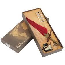 Europeanism Vintage Retro Quill Feather Dip Pen Metal Nibs ... - Vova