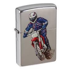 <b>Зажигалка Zippo 207 Dirt Bike 2</b> с мотоциклом