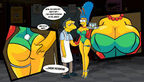 marge s new job by linkartoon by hand d sexy marge s new job by linkartoon