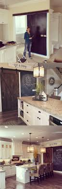 kitchen moldings: rustic chalkboard kitchen accent wall  rustic chalkboard kitchen accent wall