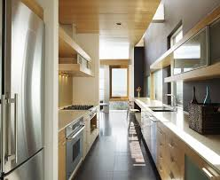 Contemporary Galley Kitchen Pictures Of Galley Kitchen Contemporary With Kitchen Hardware