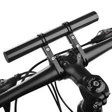 Extended <b>Bike Light</b> Mount Double Handles Bracket Holder ...