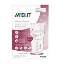<b>Пакеты для хранения грудного</b> молока Philips Avent 180мл 25 шт ...