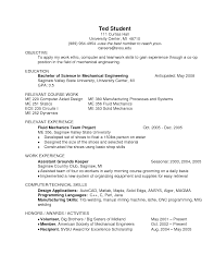 sample resume for engineering students template resume format engineering resume examples for students