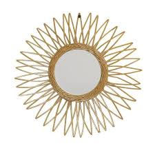 Iris <b>Wicker Mirror</b> Ø37cm - Natural 3700301140968-buy at a low ...
