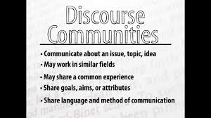 discourse community paper discourse community paper