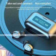 <b>B281 TWS Wireless Bluetooth Headphone</b> LED Display With ...