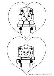 Small Picture Thomas friends Coloring Pages Educational Fun Kids Coloring