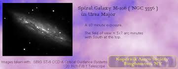 <b>M</b>-<b>108</b>, Spiral Galaxy