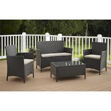 resin wicker outdoor sofa
